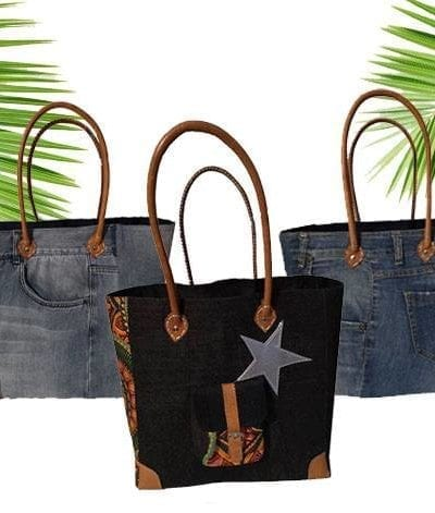 CABAS EN JEANS RECYCLE